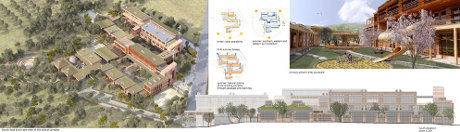 Artists Impression Bioclimate School Crete