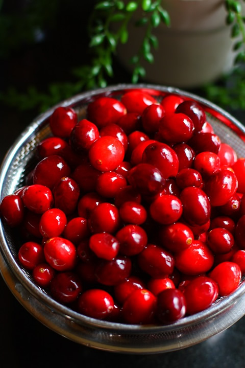 Basket of Cranberries クランベリー