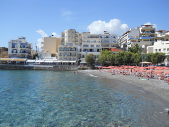 Blue Flag Beach Agios Nikolaos