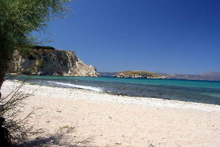 Picturesque Beach at Almerida, Northwest Crete, Greece