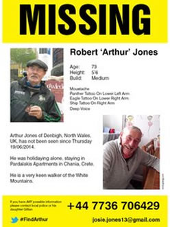 Distributed Leaflet to find Missing Person